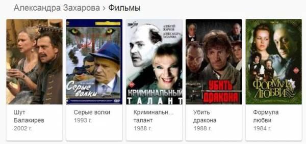 Александра Захарова – биография, фильмы, фото, личная жизнь, последние новости 2019